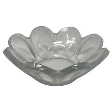 Lalique Cristal France Shell Bowl