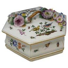 Meissen Box from Marcolini Period 1773-1814