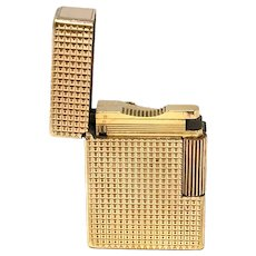 Vintage S.T. Dupont Gold Tone Lighter
