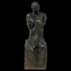 Eva Lapka Ceramic Sculpture Mother & Child