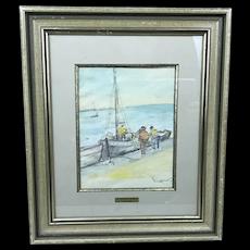 Emile Othon Friesz Watercolor