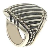 Navajo D. Clark Solid Silver Ring