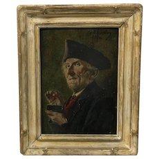 Georg Roessler Portrait Painting