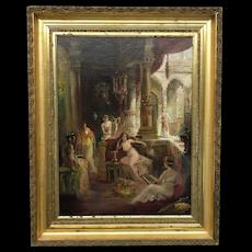Orientalist Harem Fabio Fabbi Painting