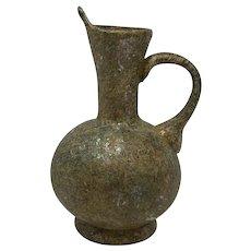 Iridescent Roman Glass Jug