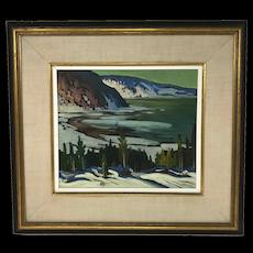 Canadian Mario Mauro Painting