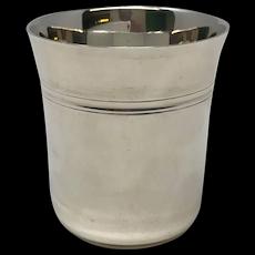 Jean Puiforcat Sterling Silver Beaker