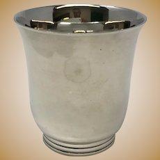 Jean Puiforcat Sterling Silver Art Deco Beaker