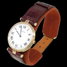 Cartier Tricolor Gold Vendome Trinity Men's Watch