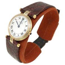 Cartier Tricolor Gold Vendome Trinity Ladies Watch