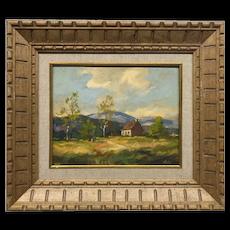 Canadian T. Arlis Landscape Painting