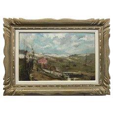 Italian G. Mastropaolo Landscape Painting