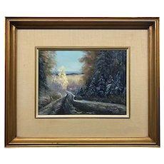 Canadian Pierre Duhamel Rimouski Painting