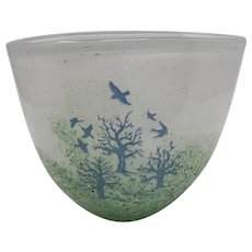 Kjell Engman Kosta Boda Scenic Vase
