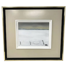 Roland Pichet Canadian Painting with coa