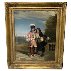 Gilbert Stuart Newton Importunate Author Painting