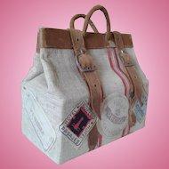 Miniature French Poupee Travel Bag