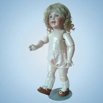 """Antique French """"Laughing Jumeau""""  Character 15"""" SFBJ 236"""