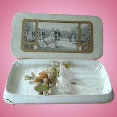 French Miniature Wedding Wax Bouqet for Fashion