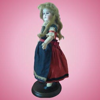 "13.5"" French Alsatian Bisque Doll"