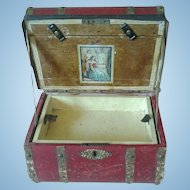 1860's Jenny Lind Trunk for French Fashion