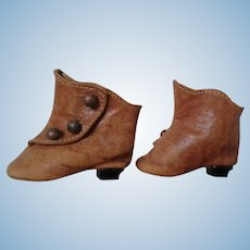 "Antique French Fashion 2"" Boots"