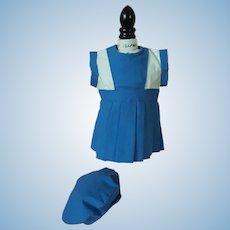Factory Original Effanbee Patsy Jr. Dress and Hat