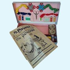 "French Child's Sewing Box ""Ma Poupee"""