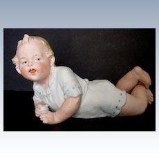 Antique Gebruder Heubach Baby Holding a Ball