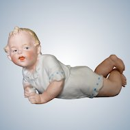 Antique Gebruder Heubach Baby Holding a Ball