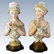 Antique Old Paris Busts
