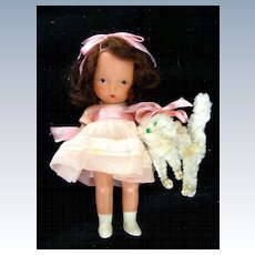 """Nancy Ann Storybook Doll """" Pussycat Pussycat Where Have You Been"""" box #126"""