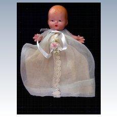 Nancy Ann Storybook Baby #230 Fancy Organdy Dress