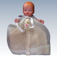 Nancy Ann Storybook Baby #230 Fancy Organdy Dress