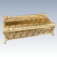 Vintage Hollywood Regency, Matso,n Stylebuilt Gold Plate Tissue Holder