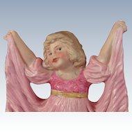 "Gebruder Heubach ""Pink Dancing Girl"""