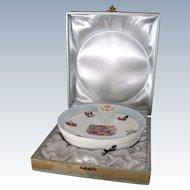 Vintage Limoges Porcelain Baby Warming Dish in Presentation Box