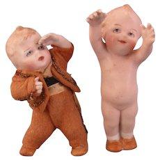 RARE  Heubach Position Baby Pair