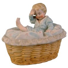 German Baby Fairing Trinket Box
