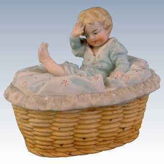 German Baby Fairing Trinket Box