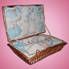 Dream Baby in Au Nain Bleu Layette