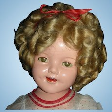 """22"""" Large All Original Ideal """"Shirley Temple"""""""