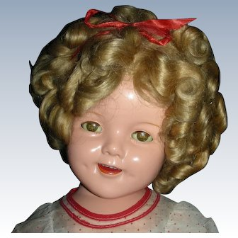 "22"" Large All Original Ideal ""Shirley Temple"""