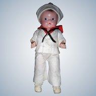 "Rare Effanbee ""Patsy  Tinyette"" Sailor Boy"