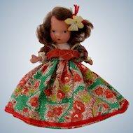 """Nancy Ann Storybook Doll  NMIB""""Portuguese"""""""