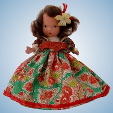 "Nancy Ann Storybook Doll  NMIB""Portuguese"""