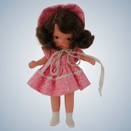 "Nancy Ann Storybook Doll "" Margie Ann in School Dress"" with Box"