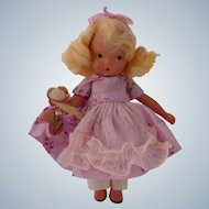 "Nancy Ann Storybook Doll  MIB ""Pretty as a Picture"""