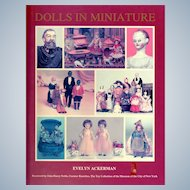 """Dolls in  Miniature"" Book by Evelyn Ackerman"
