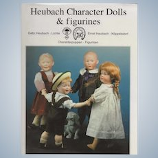 """""""Heubach Character Dolls & Figurines"""" Book  by Richter"""